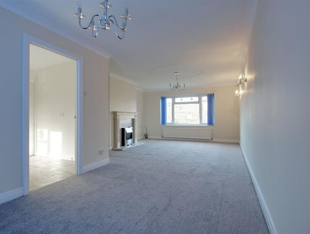Newly Refurbished Dining/Living Room (As it is now - no furniture)